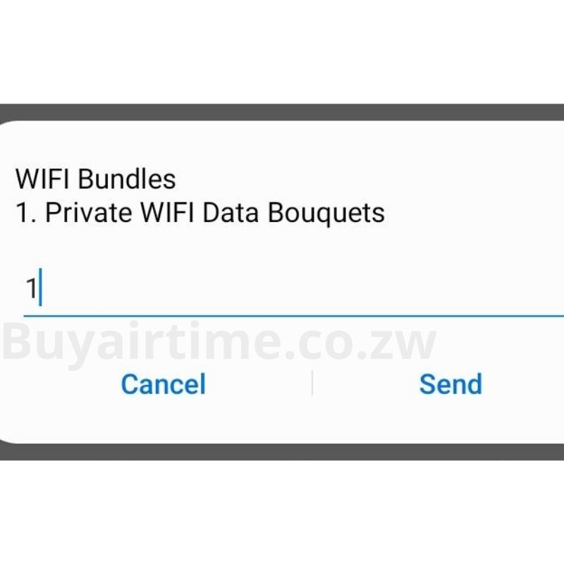 Private WiFi Data Bouquets