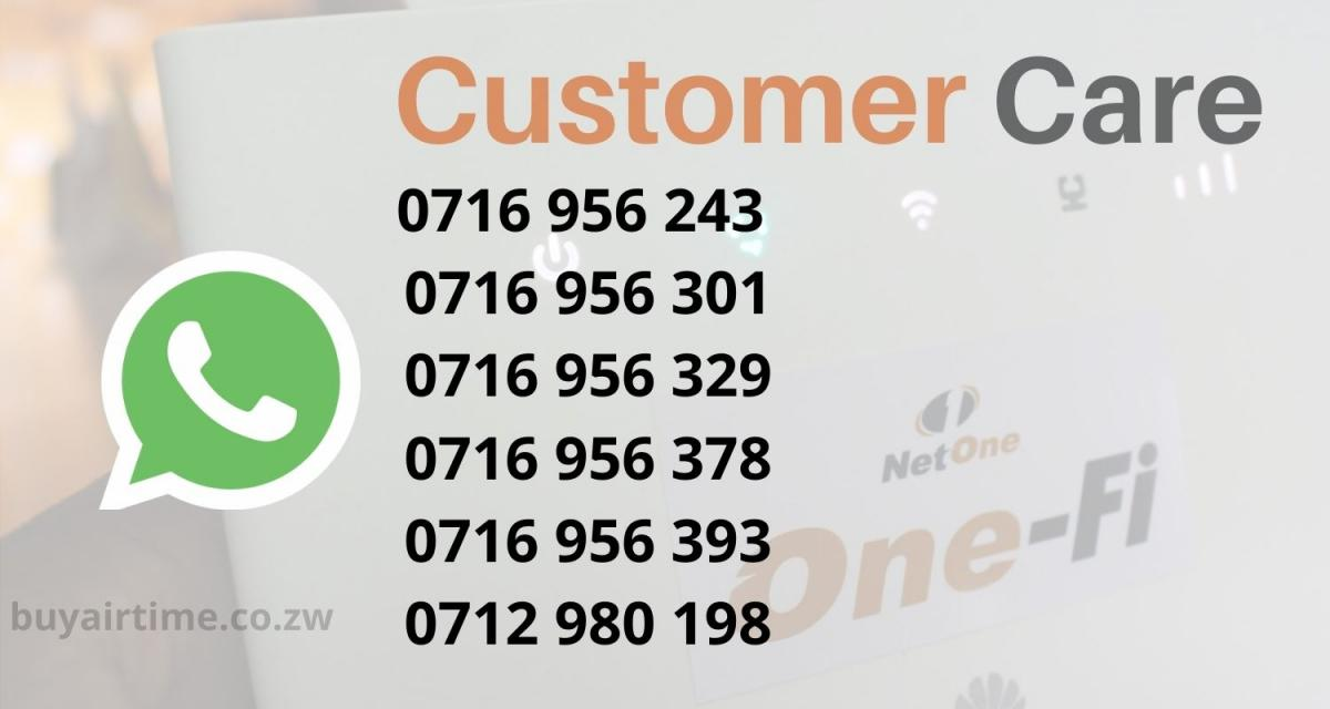 NetOne Customer Care WhatsApp Numbers