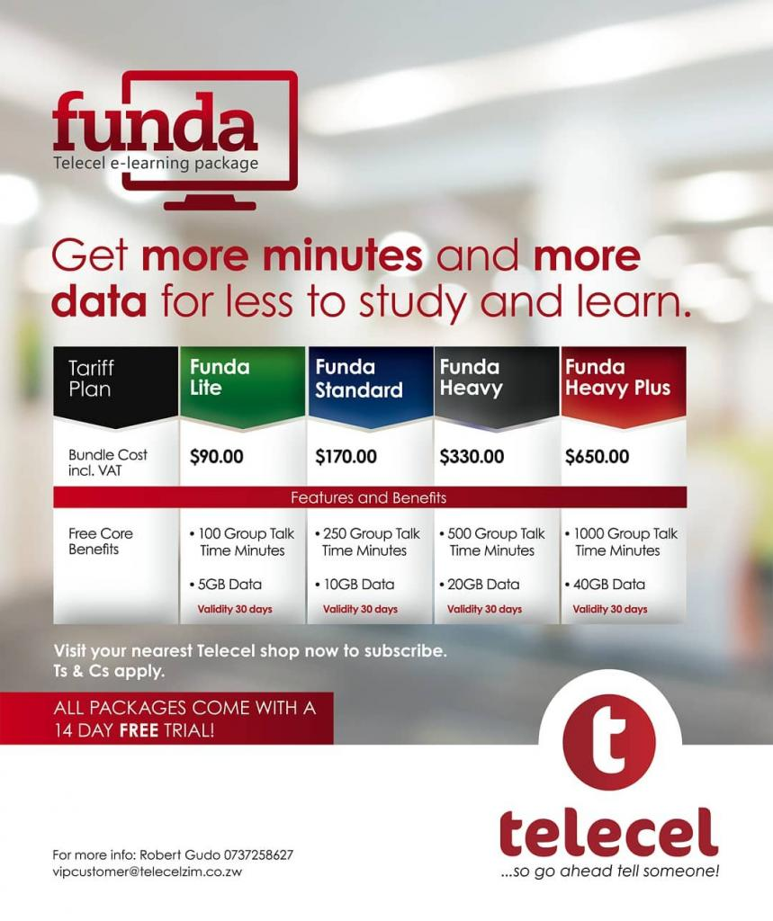 Telecel Funda e-Learning Bundles